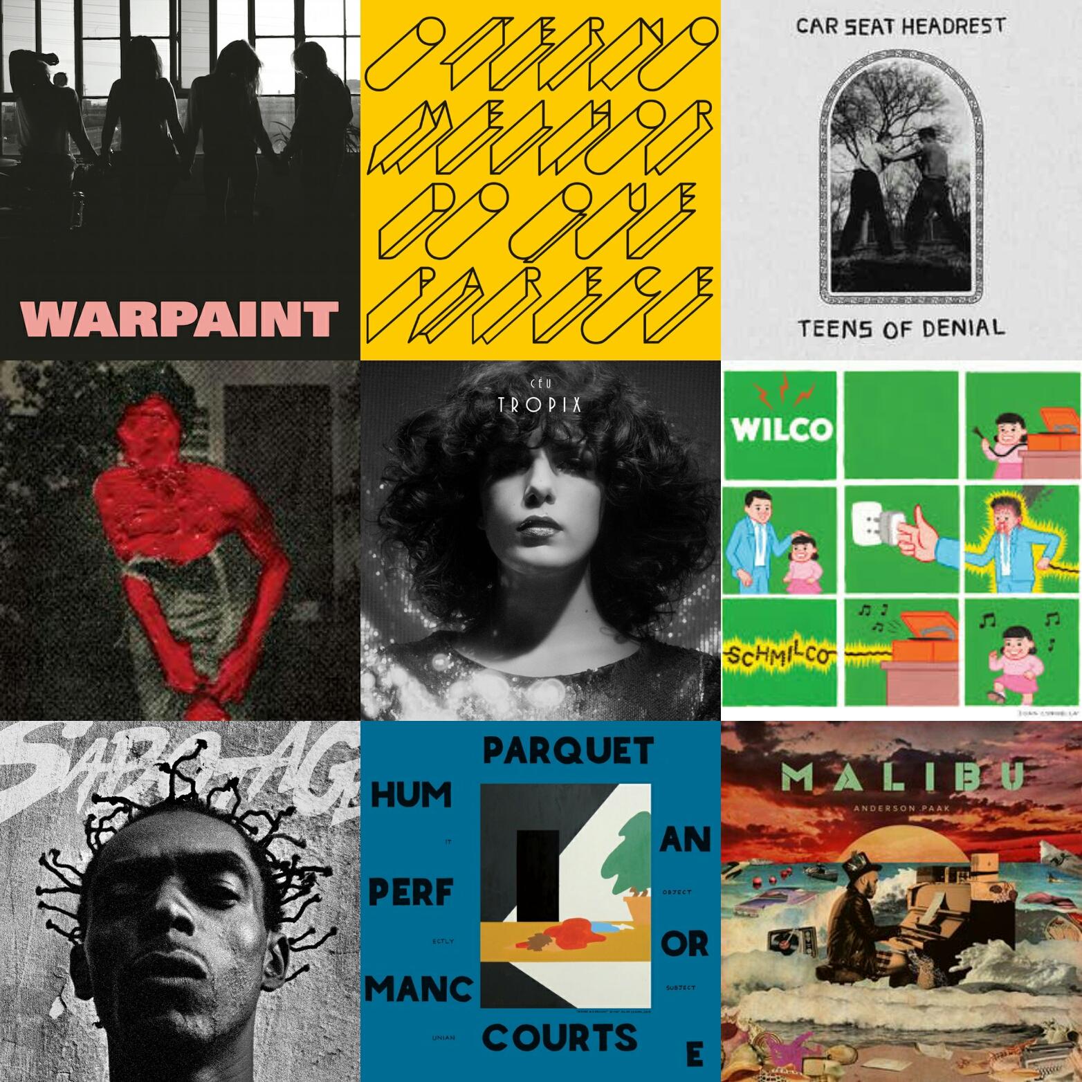 25 melhores discos de 2016