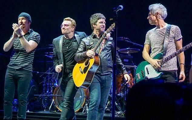 U2, Noel Gallagher, Green Day e Coldplay farão shows no Brasil entre Outubro e Novembro