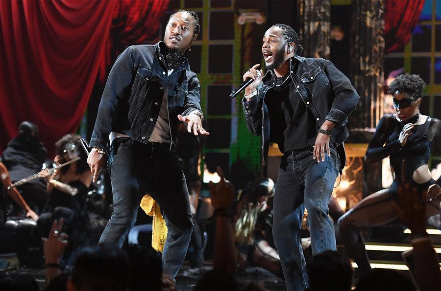 Kendrick Lamar leva o prêmio de Melhor Artista Masculino de Hip-Hop