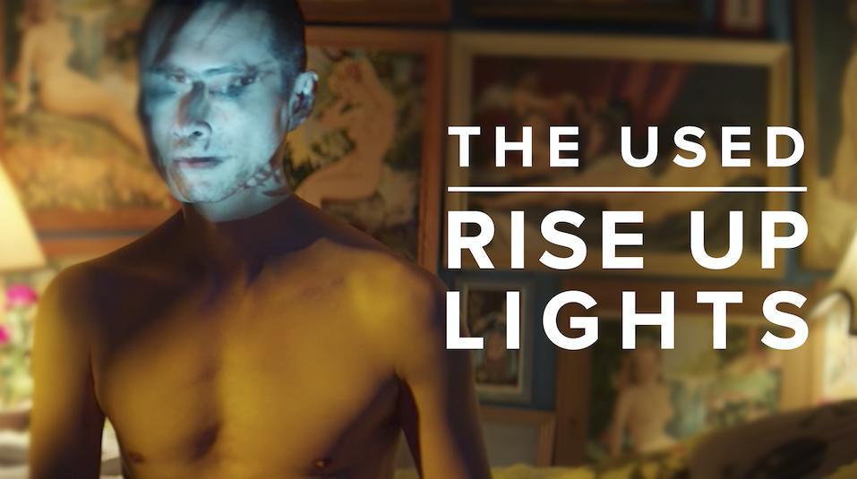 """The Used lança clipe oficial da música """"Rise Up Lights"""""""