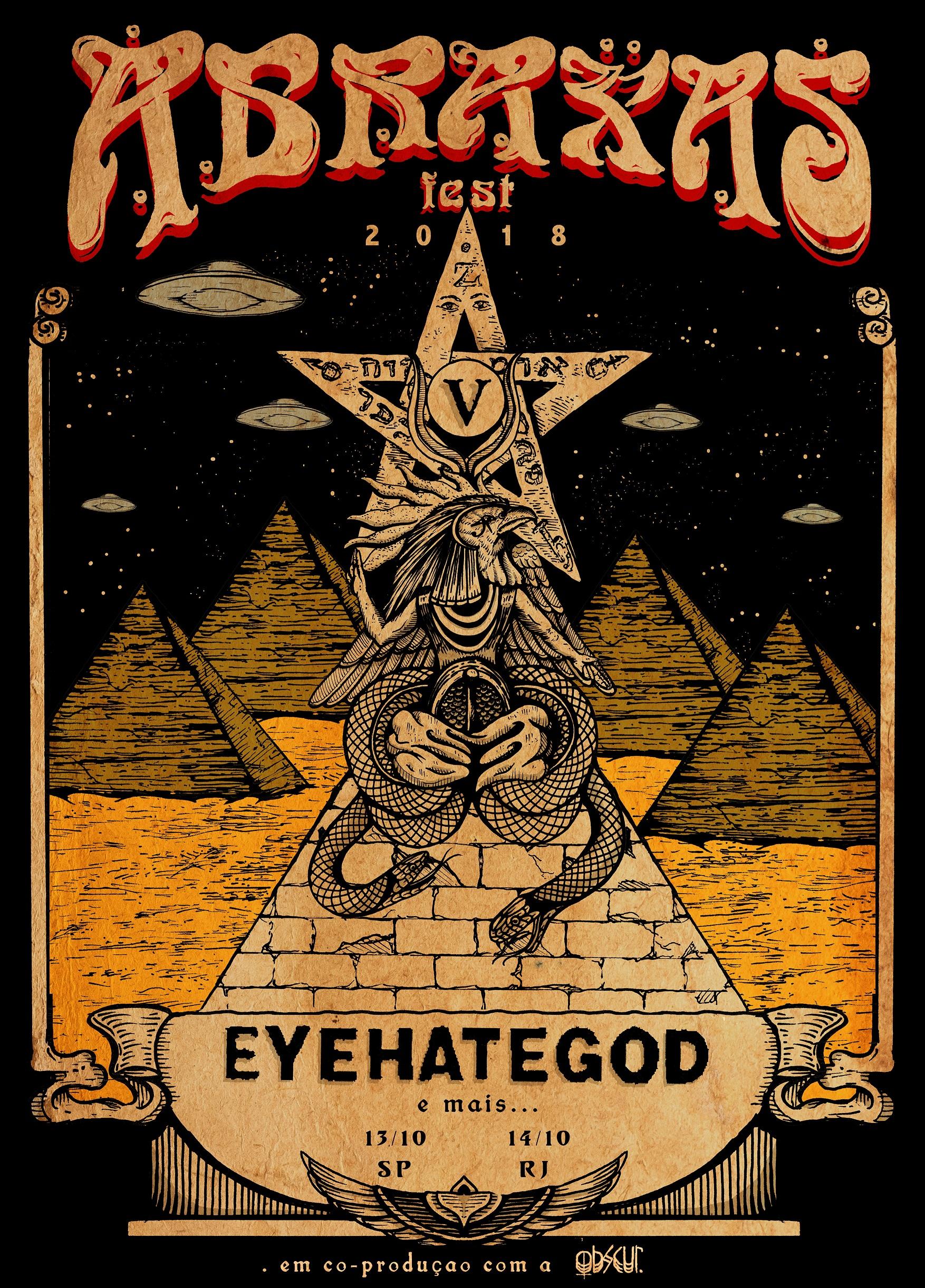 Eyehategod é a primeira atração confirmada no Abraxas Fest 2018