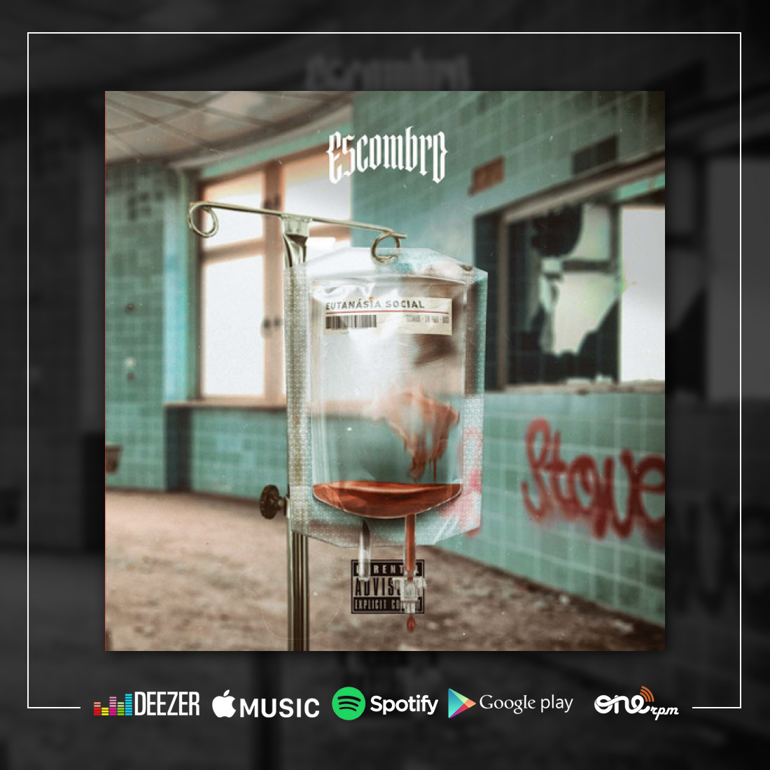 Escombro revigora o hardcore em novo EP, Eutanásia Social