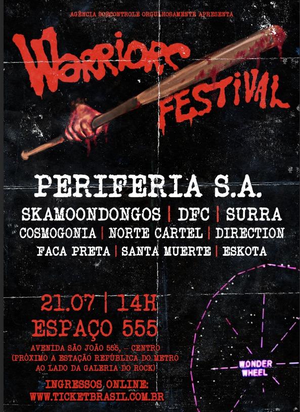 Clássico filme The Warriors inspira festival punk em São Paulo