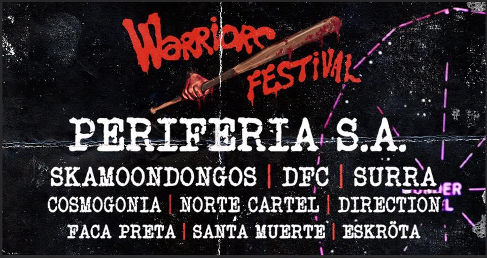 PROMOÇÃO: Par de ingressos para o Warriors Festival