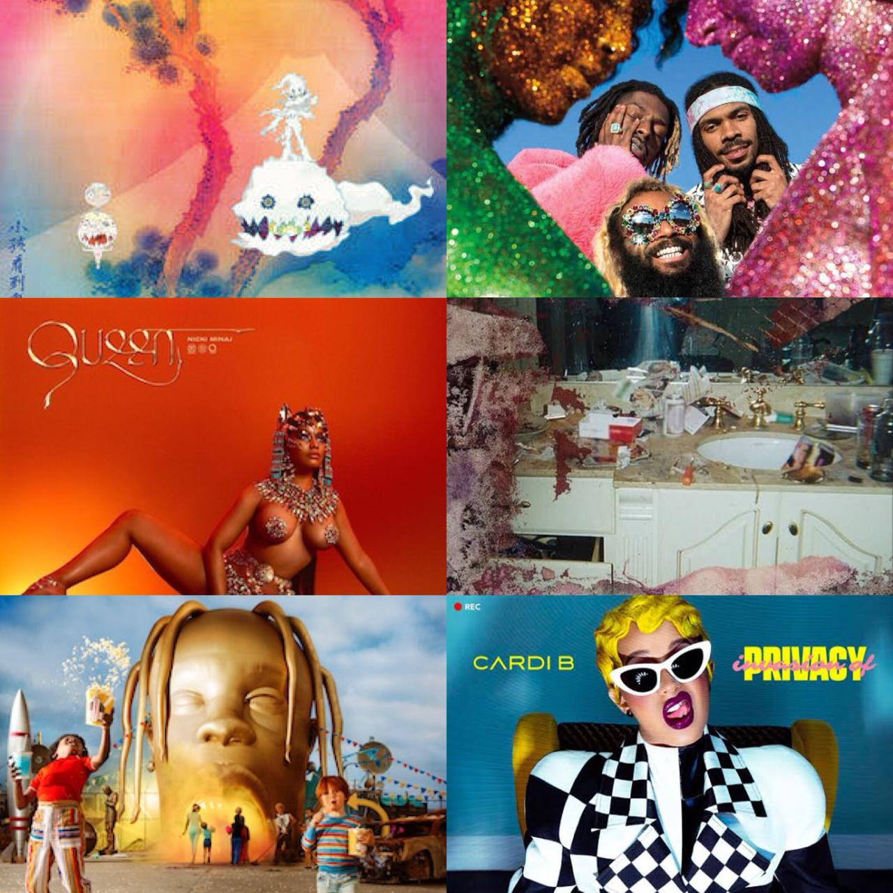 Os 25 melhores discos internacionais de Hip-Hop/R&B de 2018