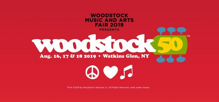 Line up completa do Woodstock 50 é divulgada