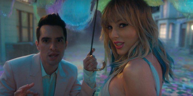 """Taylor Swift lança música e vídeo para """"ME"""" parceria com o Panic! At The Disco, Brendon Urie. Ouça:"""