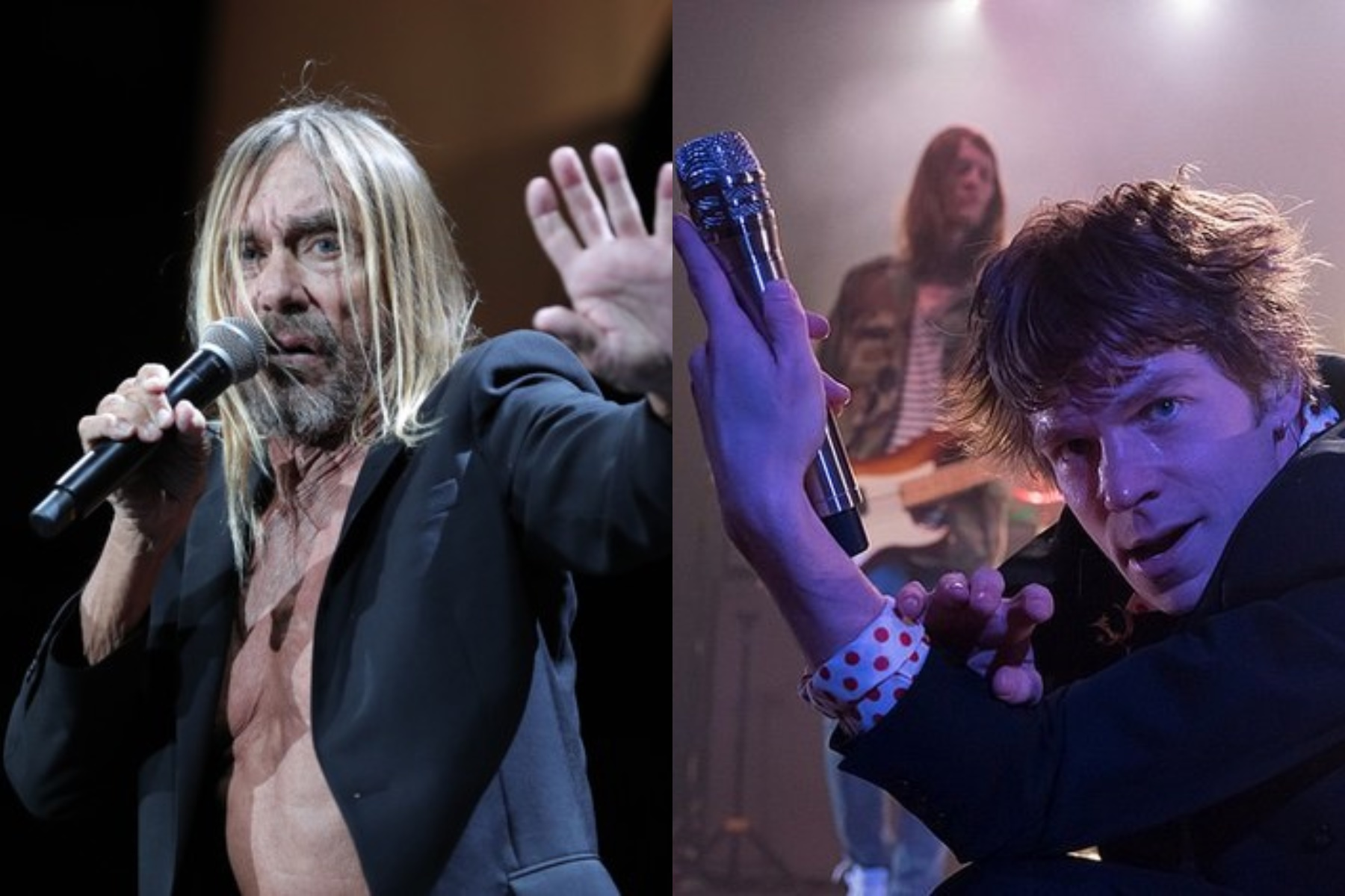 Cage the Elephant e Iggy Pop