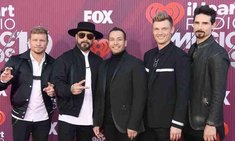 Backstreet Boys fazem performance inusitada de 'I Want It That Way'; assista