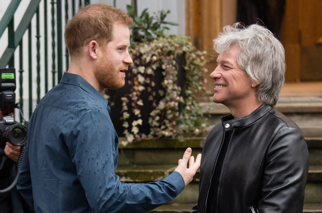 Bon Jovi se une a Príncipe Harry para (re)gravarem o single 'Unbroken'