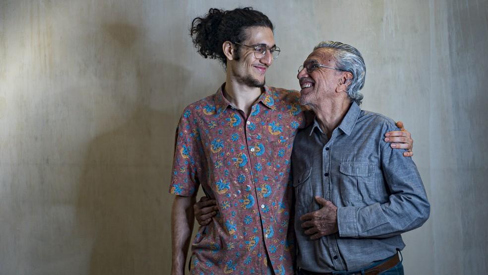 Caetano Veloso e Tom Veloso