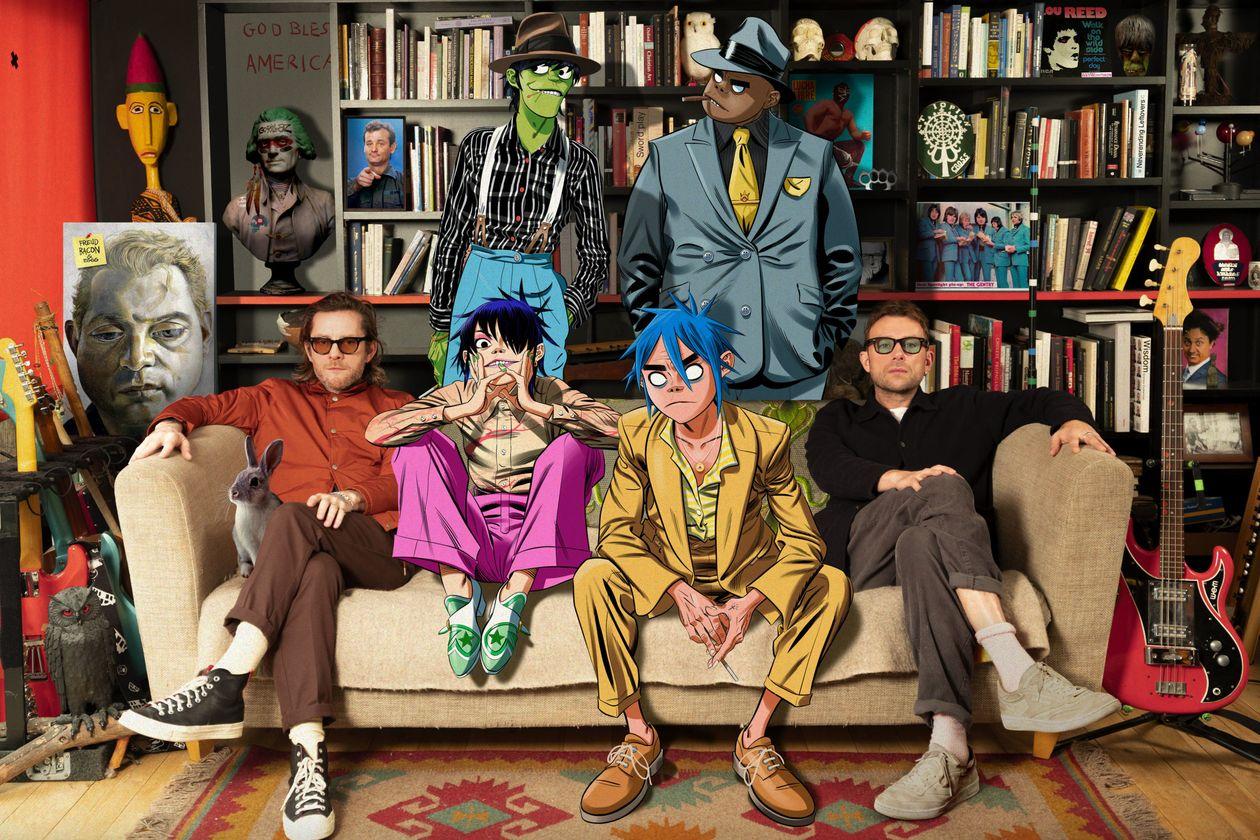 Gorillaz novo álbum Song Machine: Season One - Strange Timez