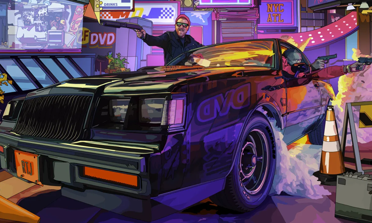 Run the Jewels Cyberpunk